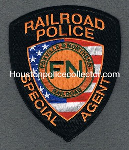 South Carolina Foxville & Northern Railroad Police