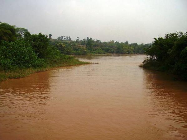 Rio Luachimo no Dundo- Julho 2008