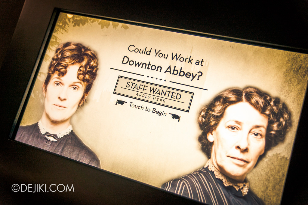 Downton Abbey The Exhibition - Downton Abbey Recruitment Quiz