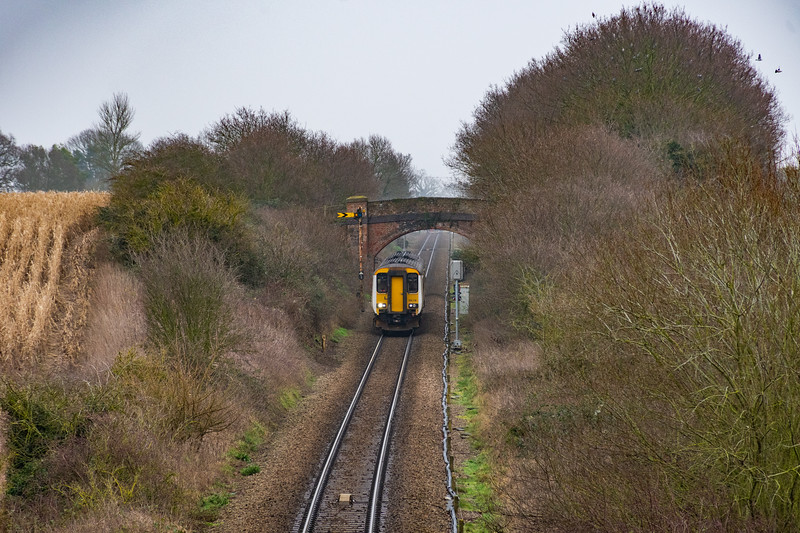 156416 storms towards Brundall