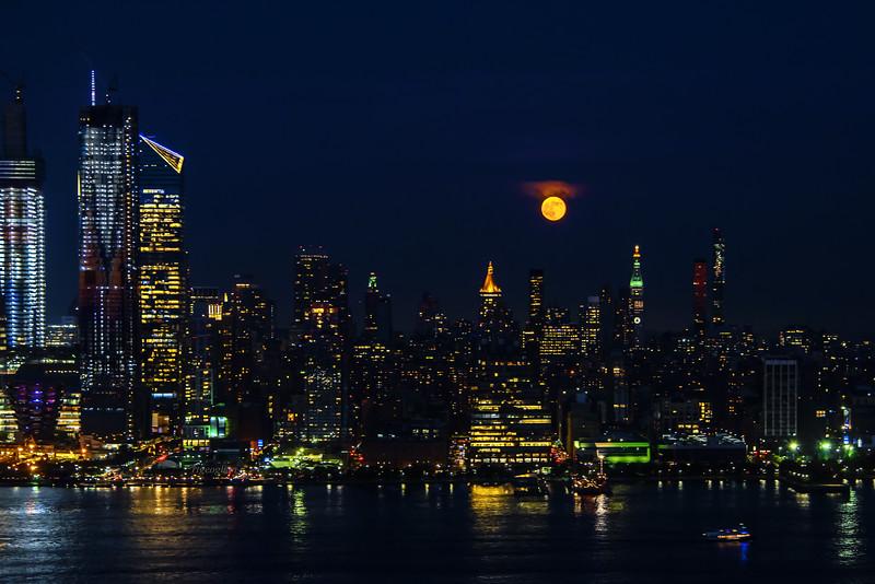 June Full Moon and Manhattan
