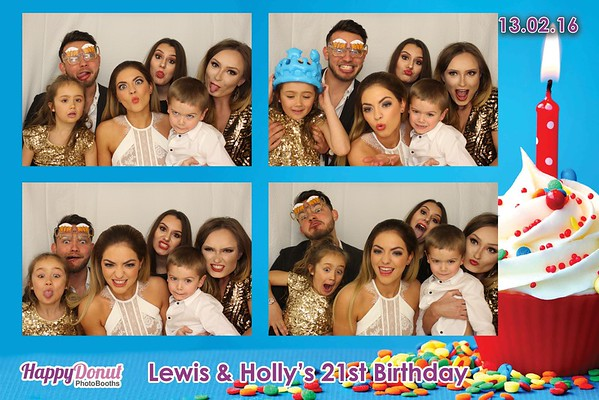 13.02.16 Lewis & Holly's 21st Birthday