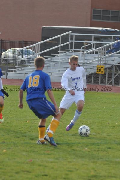 PHS Boys Soccer vs Ellis Tech