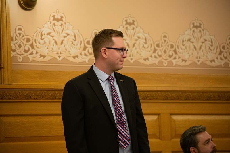 Representative-elect Brandon Woodard