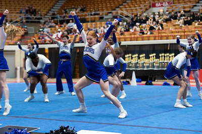State Cheer Competition at Ohio State