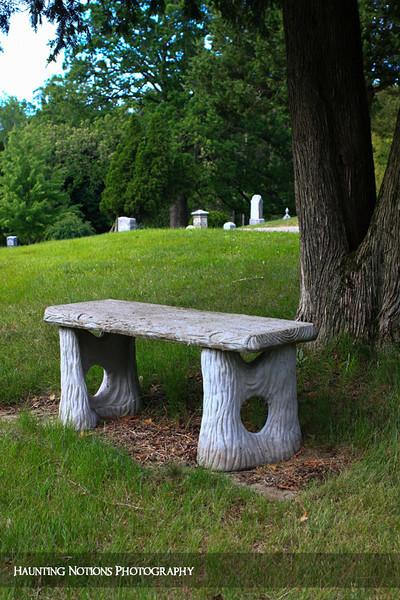 Rest Area (Rockford Cemetery, Rockford MI)