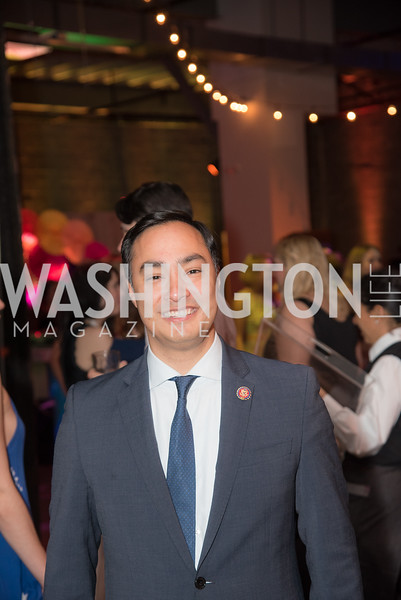 Congressman Joaquin Castro, The Phillips Collection, Annual Gala Afterparty, Contemporaries Bash, Union Market Dock 5. May 10, 2019, Photo by Ben Droz.