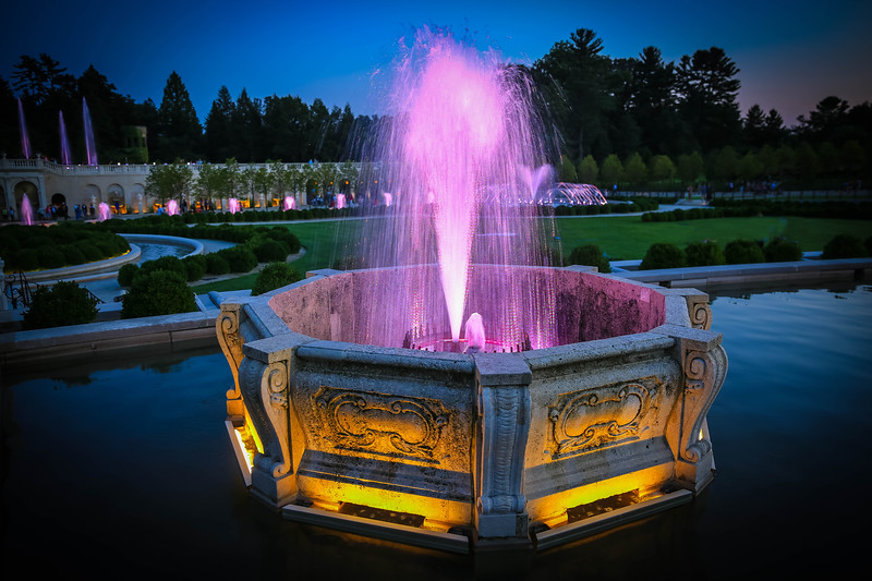 Longwood Gardens' Fountains