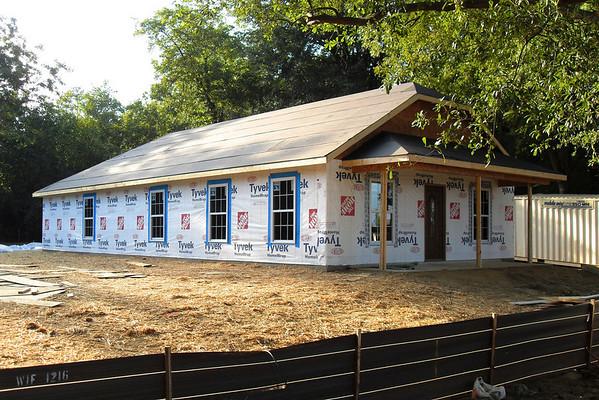 Habitat House Build - September 2010