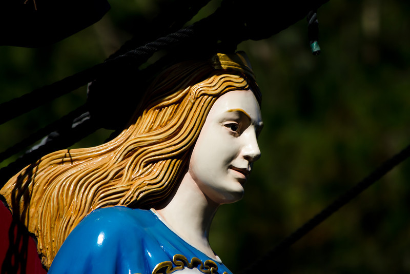 Figurehead on the Sailing Ship Columbia