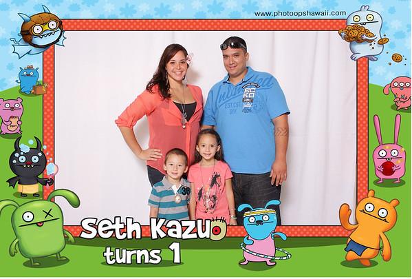 Seth Kazuo's 1st Birthday (Party Portraits)