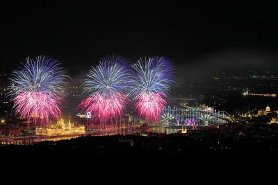 2017 Fireworks in Budapest — 2017-es budapesti tűzijáték