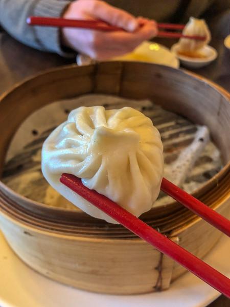 Soup dumpling at Li Wah