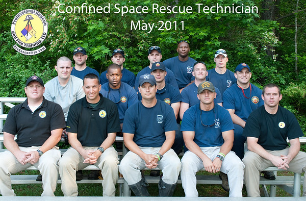 Confined Space Rescue May 11, 2011
