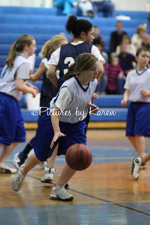 Trinity 7th Grade Girls vs Greenwood  2-10-2010
