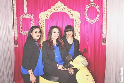 1-8-17 Atlanta Crimson Bleu Events PhotoBooth - South Asian Bridal Show - RobotBooth