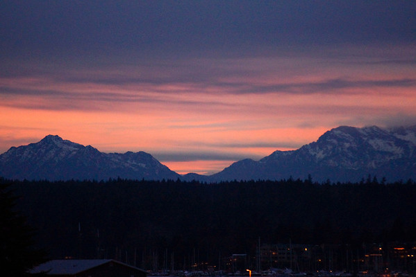 Washington State (Olympic Mountains) December 2011