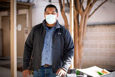Sergio, Carpenter, Physical Plant Services