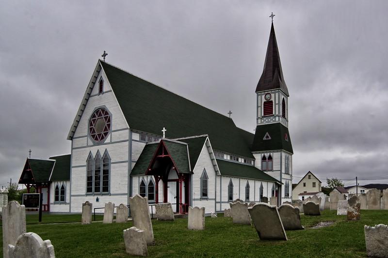 Newfoundland, St Paul's Anglican Church, Trinity