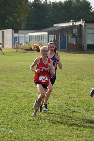 Pittsfield, Mount Greylock, Hoosac Valley cross-country meet at Wahconah - 091119