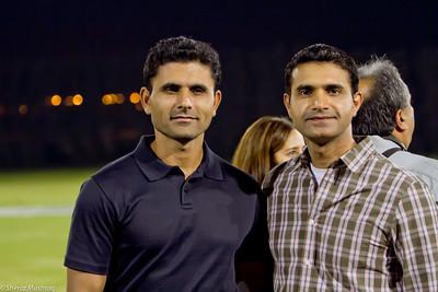 DCA - Shaid Afridi & Abdul Razaq
