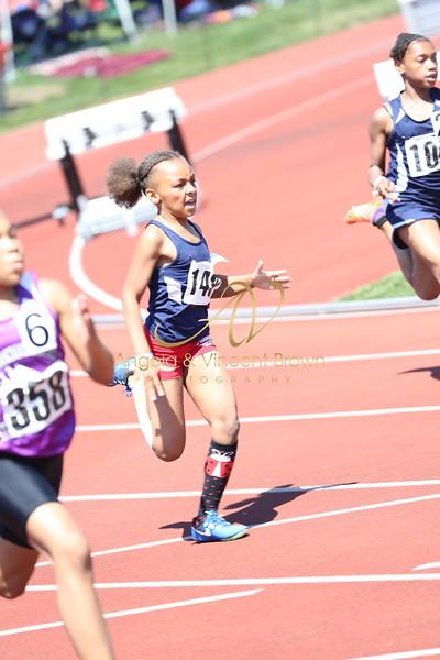 2017 AAU DistQual: 9 Girls 200m