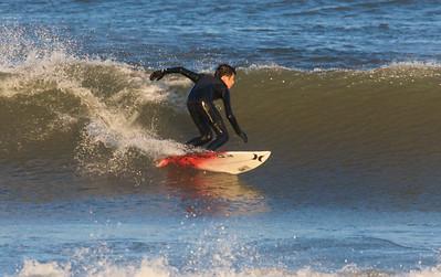Surfing @ 1st. St 4.3.09