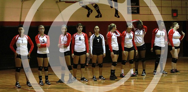HCHS Varsity Volleyball 9/16/2014
