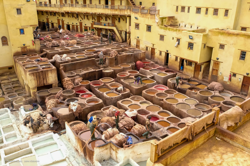 Tannery, Fes, Morocco