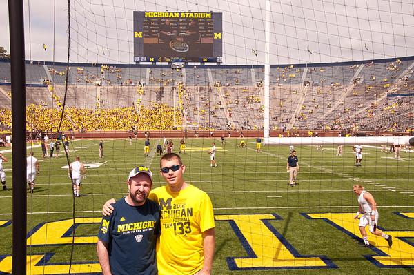 Michigan vs Central Michigan 2013