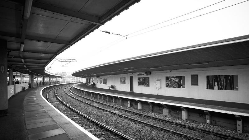 Awaiting the Next Train