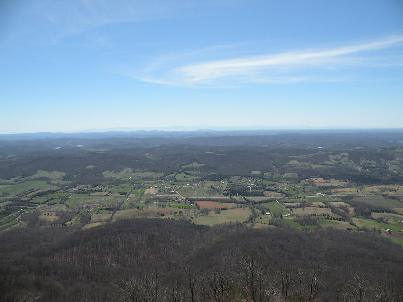 Looking out over LaFollette