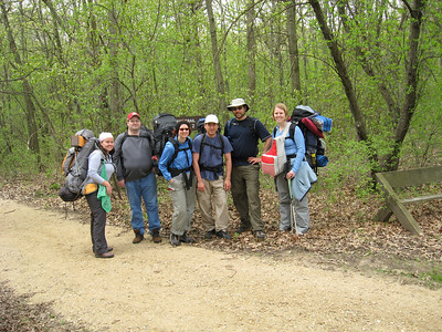 Backpacking in Kettle Moraine South