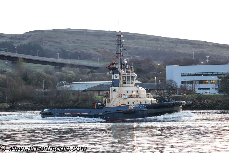 Clyde Tug Anglegarth of Clyde Marine Services Ltd