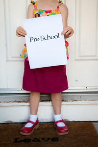 Reese's First Day of Preschool