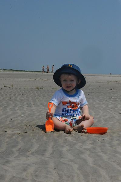 Dinah at the Beach