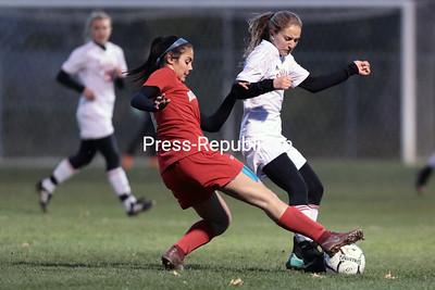 Girls Soccer — Beekmantown vs. Saranac Championship
