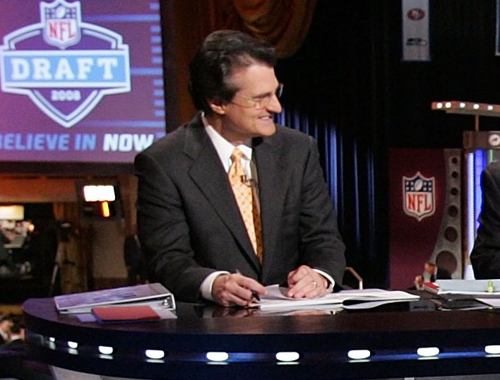 . <b>7. MEL KIPER </b> <p>It�s even money that he gets strangled by Jon Gruden by the end of the weekend. <p>    (Jim McIsaac/Getty Images)