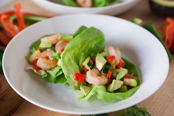 2017.06.05 Shrimp Veggie Tacos