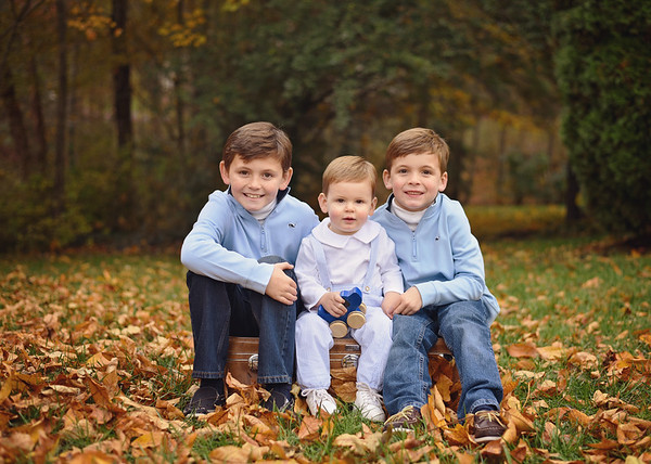 Russell, Andrew & William {family}