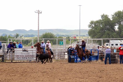 Sat. Slack Senior Team Roping