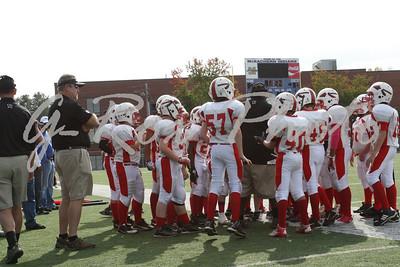 2012-10/27 6th Grade JR Warriors vs JR Indians