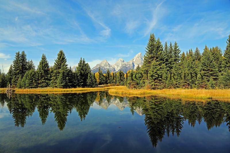 Grand Teton National Park along the Snake River.