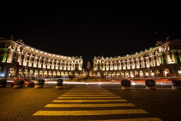 Night Shots of Rome