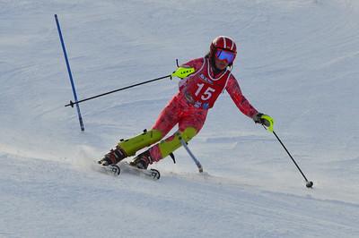 Feb 11 Brule J456 Girls SL 2nd race 1st run