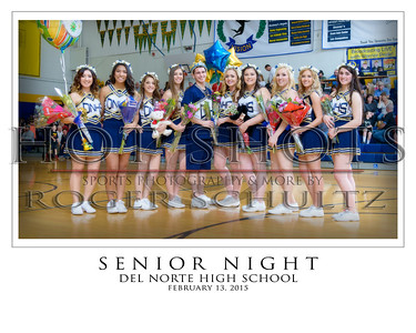High School Basketball Extas (Senior Nights & Cheer)