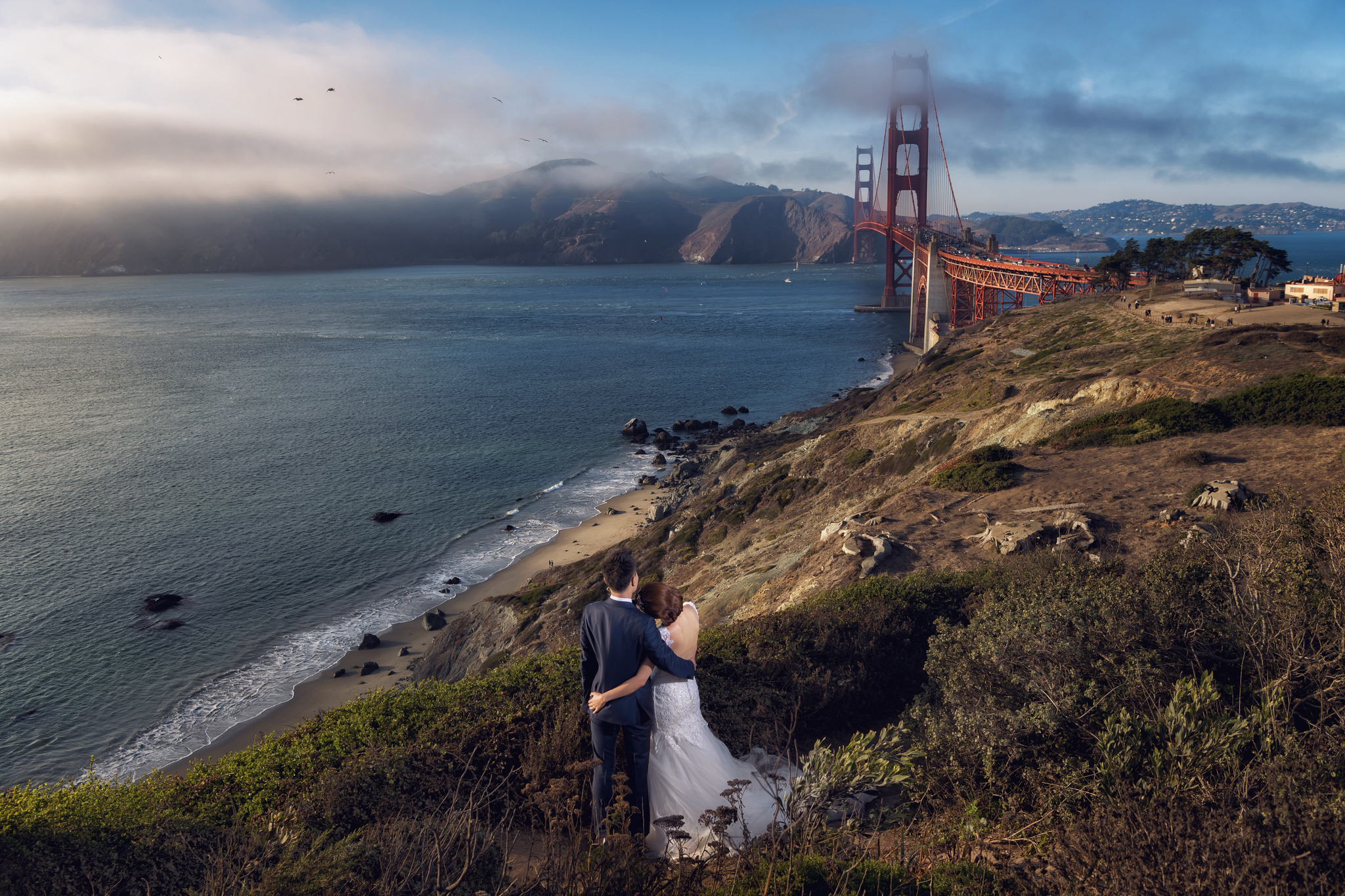 Donfer, 海外婚紗, World tour, 東法, EASTERN WEDDING, 世界旅拍, 舊金山, san francisco, 美西婚紗