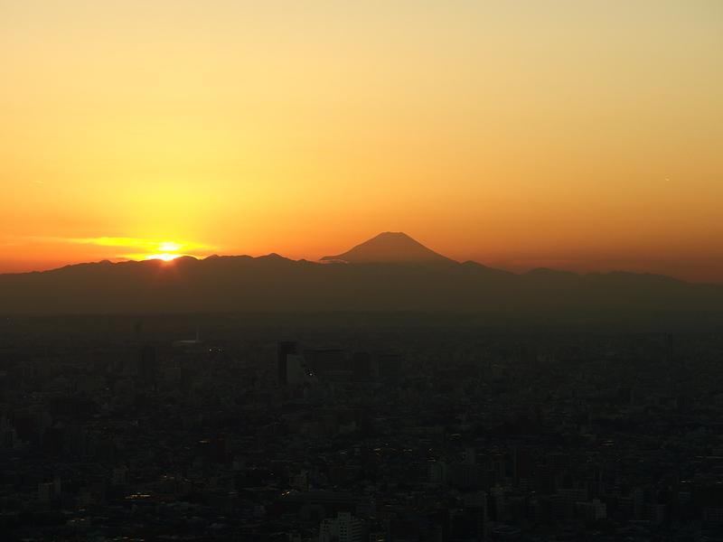 Sunset @ Sunshine 60 Observatory @ Sunshine Building @ Ikebukuro