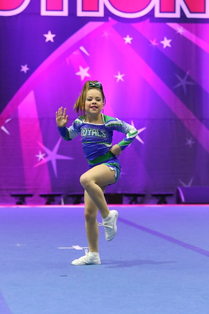 CheerStrike Royals  Charlotte - Mini Indy 2