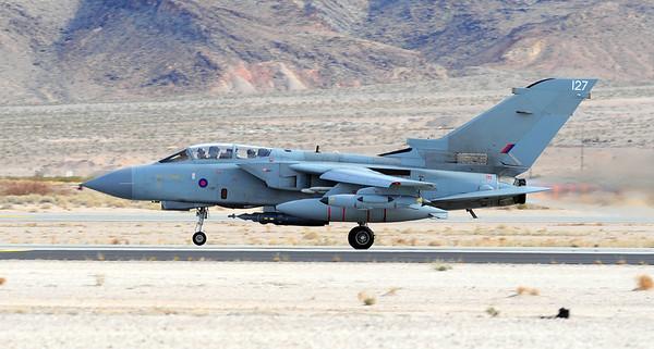 British Royal Air Force Tornado